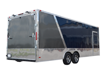 Screwless Exterior Enclosed Cargo Trailer